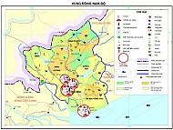 Vị trí địa hình Nam Bộ