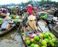 Chương trình 1 Ngày:  Chợ Nổi Cái Răng – Vườn Trái Cây – Mỹ Khánh – Chùa Hoa – Chùa Khmer