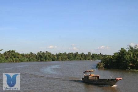 Sông Hậu,song hau, du lich mien tay,hau giang